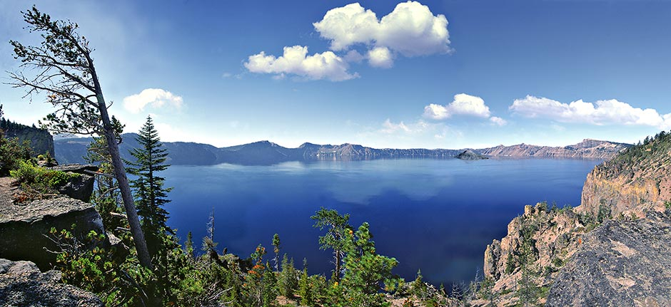 The Backside of Crater Lake