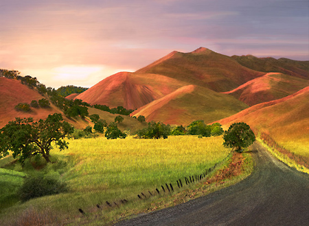 California Scenery, painterly photos, pans; USA Pictures and Digital Art for sale