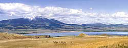 Helena Montana panorama - Antelope - Canyon Ferry Lake